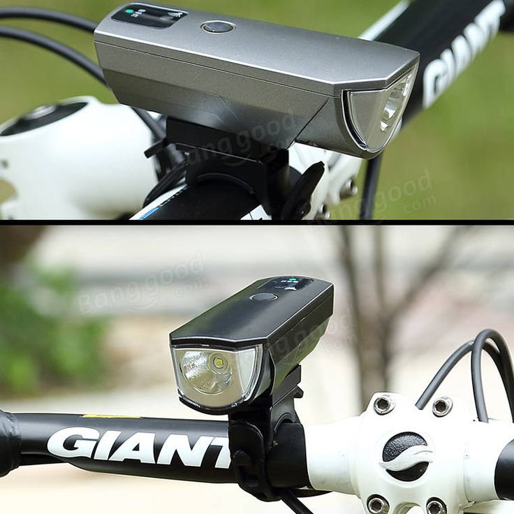 XANES SFL02 600LM T6 Smart Induction Bicycle Light IPX4 USB Rechargeable 80° Large Flood Light Sale - Banggood.com