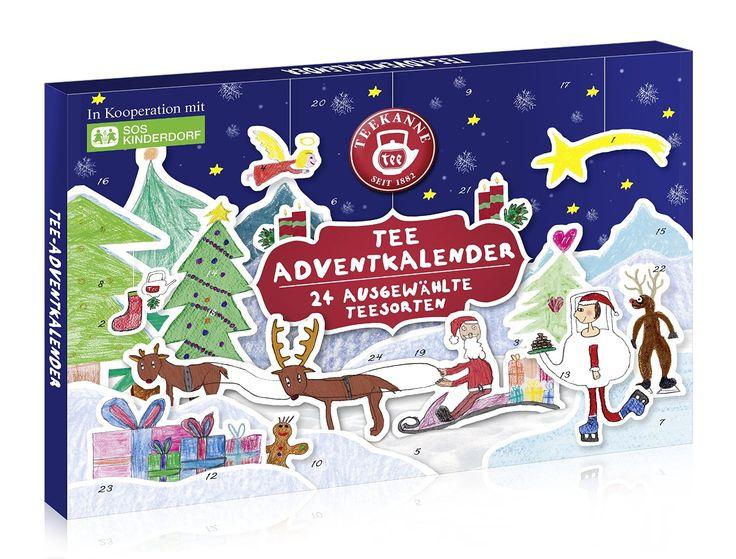 Teekanne Adventkalender, 1er Pack (1 x 42 g): Amazon.de: Lebensmittel & Getränke