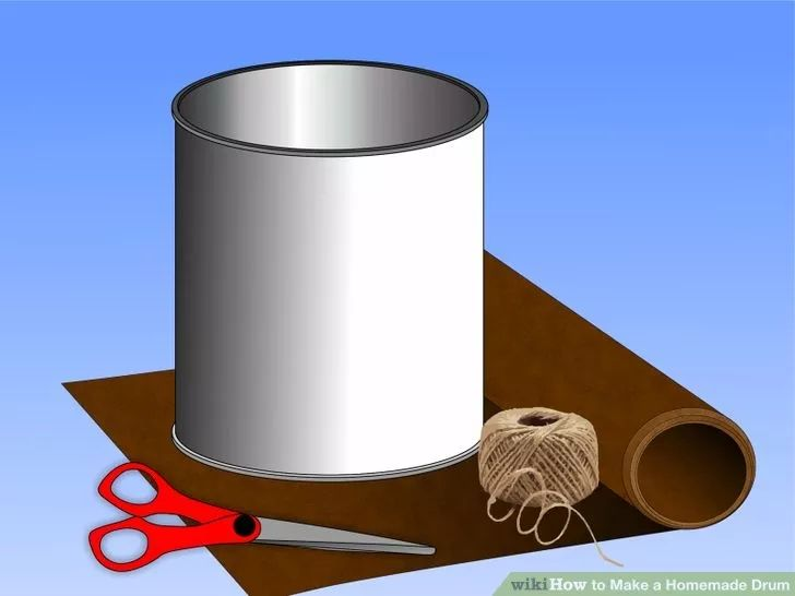 how to make a homemade drum