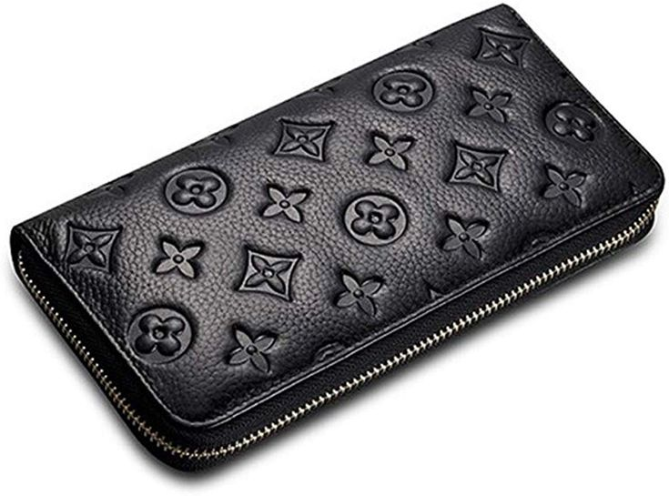 LXJ STORE Frauen RFID Blocking Wallet Große Kapazität Echtes Leder Kartenhalter …