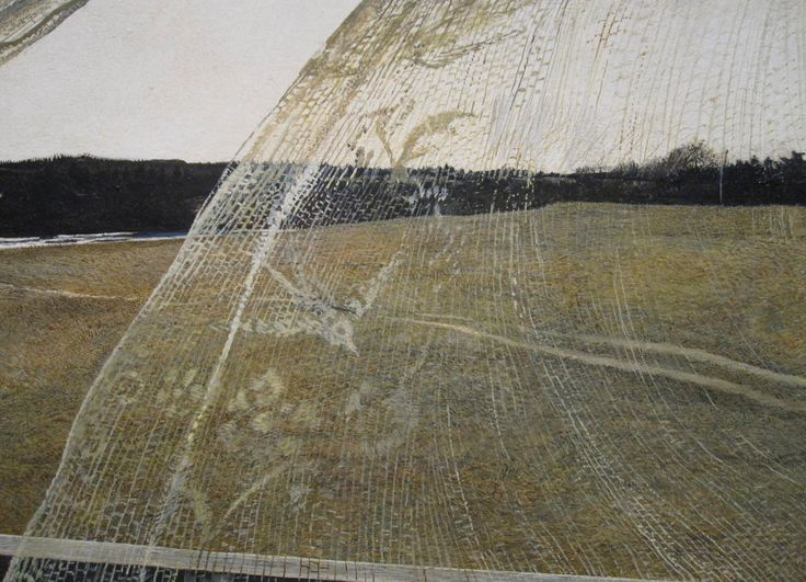 Andrew Wyeth, wind from the sea...detail.
