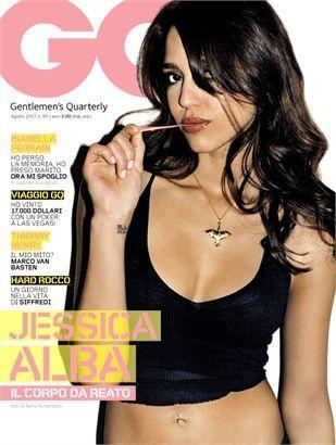 Jessica Alba - GQ Magazine Cover [Italy] (August 2007)