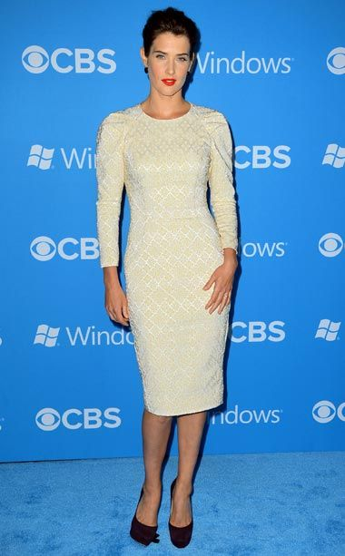 Cobie Smulders at the CBS 2012 fall premiere party in West Hollywood: Ew Popstyl, Premier After Parties, Cbs 2012, Fall Premier, Red Carpets, West Hollywood, Cobie Smulders, First Parts, 2012 Fall
