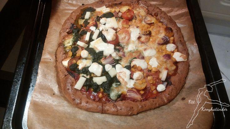 Low-Carb pizza NoCarb | Klikk a képre a receptért!