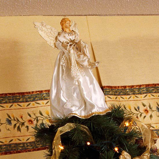 Must have an angel at the top of our Christmas tree not a star.