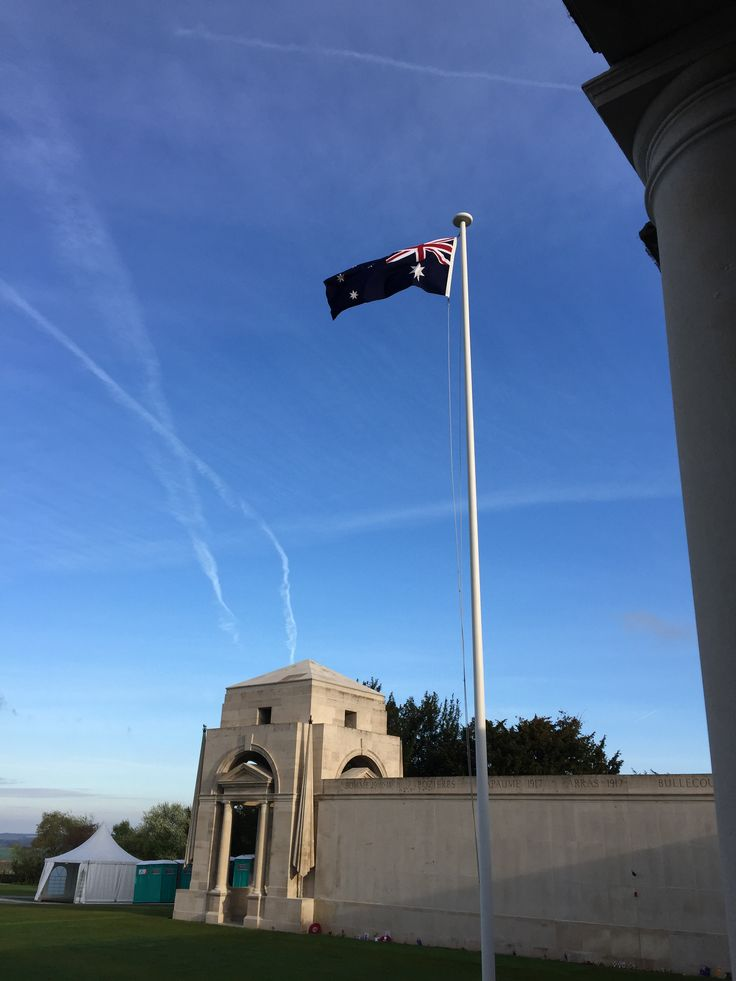 Australian National Memorial – Villers‑Bretonneux, France. 2 Days after Anzac Day 2015