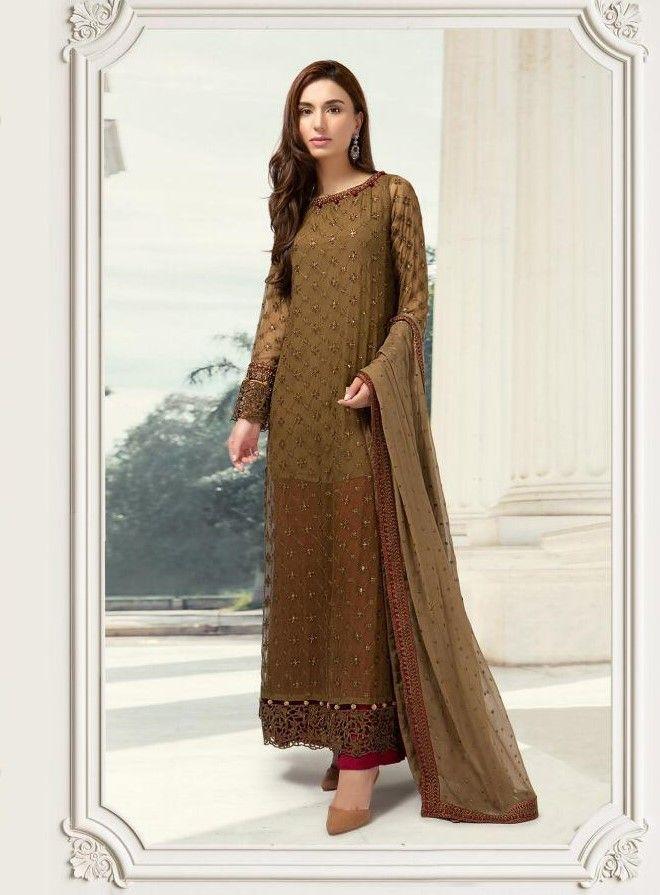 160568dc62 Deepsy Sana Safinaz Embroidered Pakistani Suit(5 Pc Set) | Pakistani ...