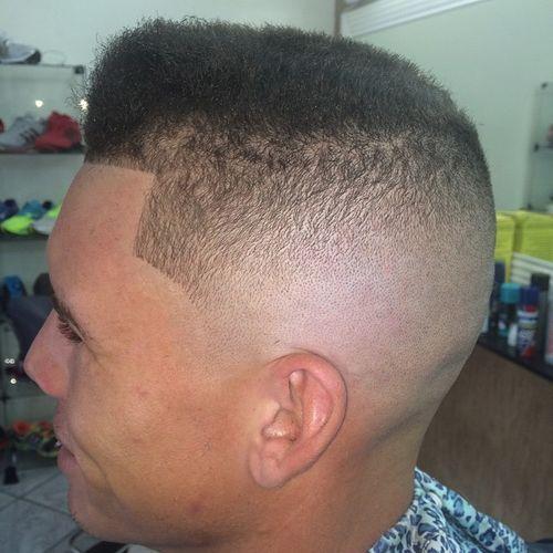 flat top men's haircut
