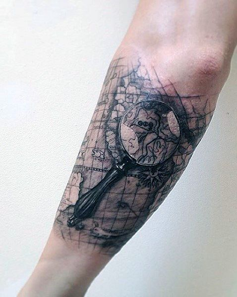 maps of the worldtattoo - Google Search