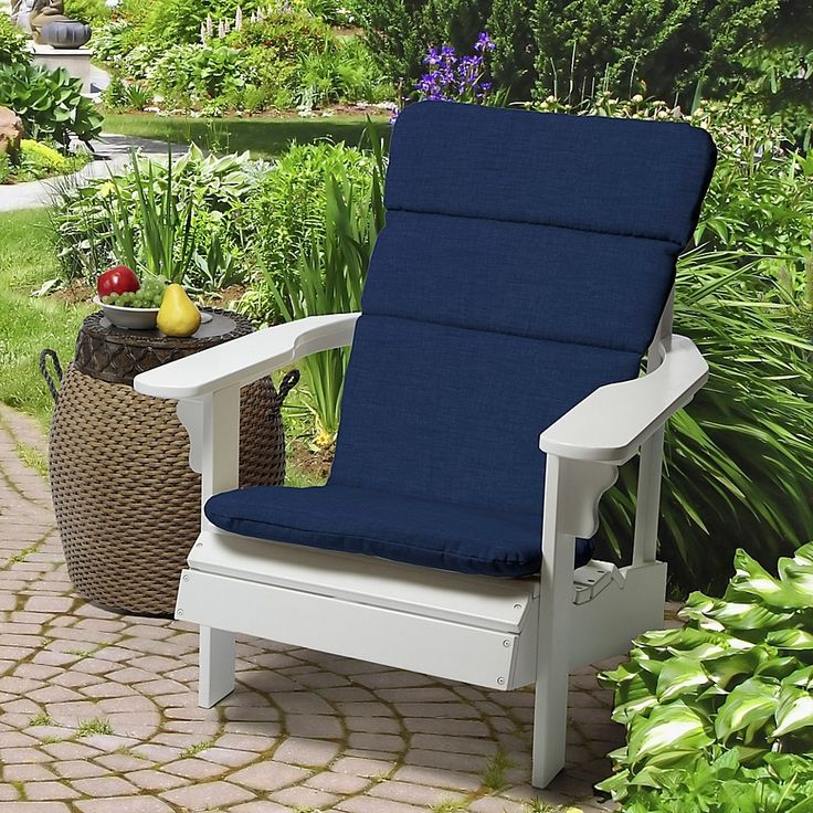 Arden selections solid outdoor adirondack chair cushion