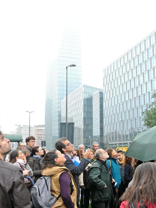 """Itinerario """"Dall'idea di città alla città costruita: l'area di Garibaldi-Repubblica"""" a cura di Patrizio Cimino. (Foto di Barbara Palazzi)"""