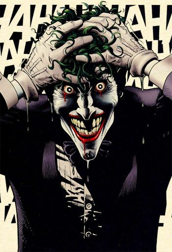 Joker from The Killing Joke (Brian Bolland)- I just read this, pretty good..just a lot different than the film version of the joker.