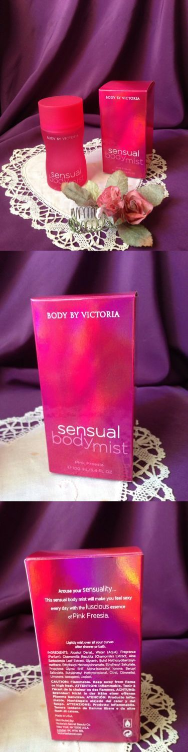 Body Sprays and Mists: ~ ~Very Rare! Victoria S Secret ~ ~ Pink Freesia ~ ~ Sensual ~ ~ Body Mist~ ~ -> BUY IT NOW ONLY: $59.99 on eBay!