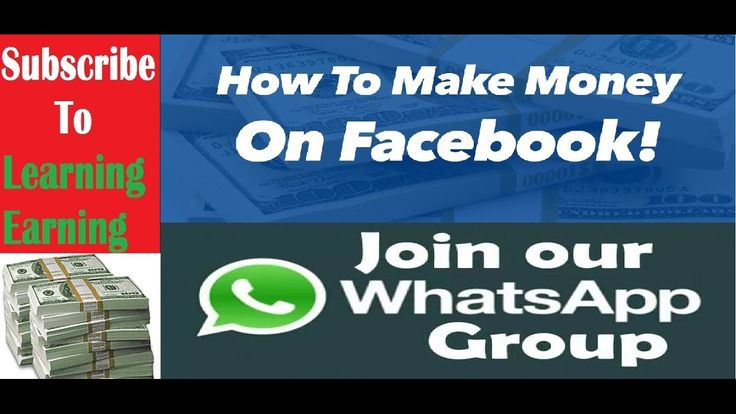Earn from Facebook and Whatsapp Groups  Complete Guide will be on these ...