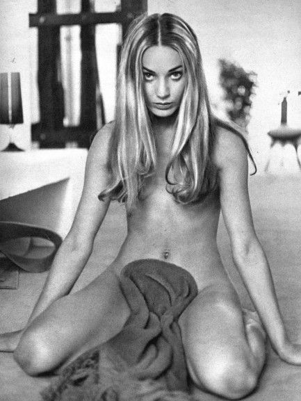 Pulp International - Image of French actress Genevieve Grad from Girl Illustrated circa early 1970s