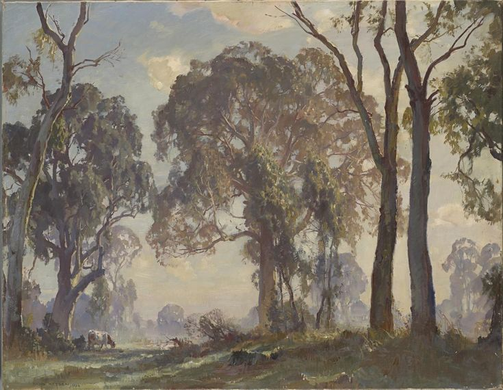 Edge of the clearing, 1926. Hans HEYSEN.