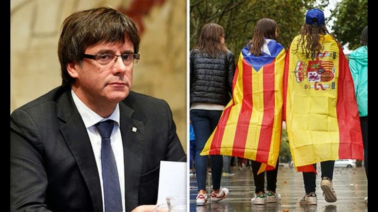 Catalonia crisis Russian hackers 'fuel independence drive in bid to DEST...