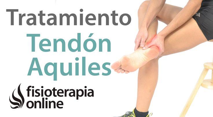 Tendinitis Aquilea o del Tendón de Aquiles. Tratamiento con ejercicios, ...