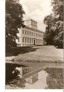 k2. Germany Saxony Anhalt Woerlitz Landschaftspark Worlitz Schloss Ruckseite Castle unposted real photo postcard | For sale on Delcampe
