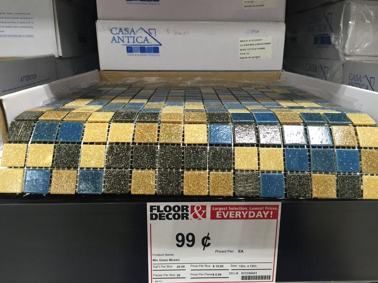 Floor Decor 99 Cents Decormosaic Tiles