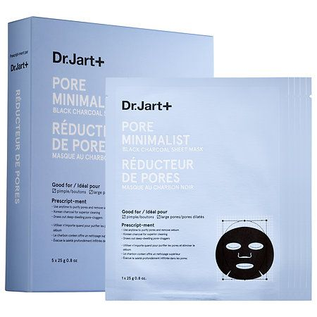 Dr. Jart+ - Pore Minimalist Black Charcoal Sheet Mask #sephora
