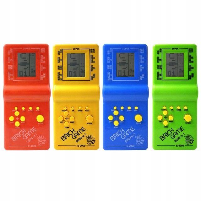 Gra Brick Game Tetris Snake Konsola 9999 Gier Games