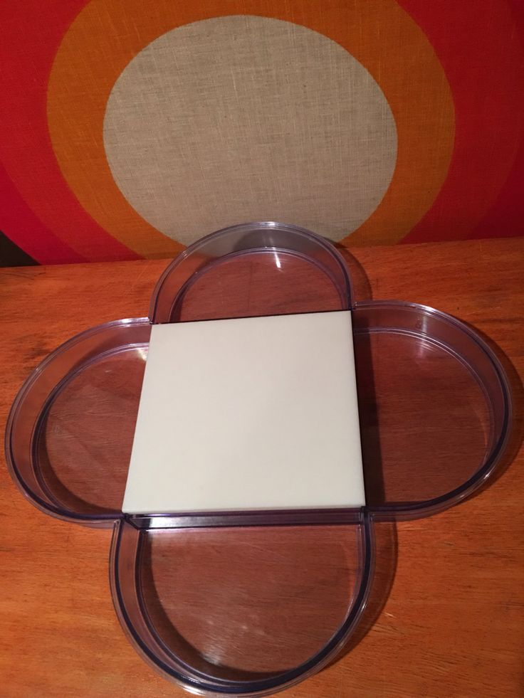 Dansk Purple Translucent Tray designed by Gunnar Cryen, Danks Designs GC, Retro Mod Plastic Serving Tray with Four Sections & Cutting Board by CapeCodModern on Etsy