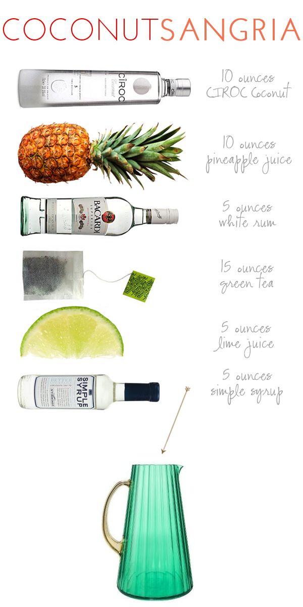 Alexandra Hedin :: Ciroc Coconut Sangria
