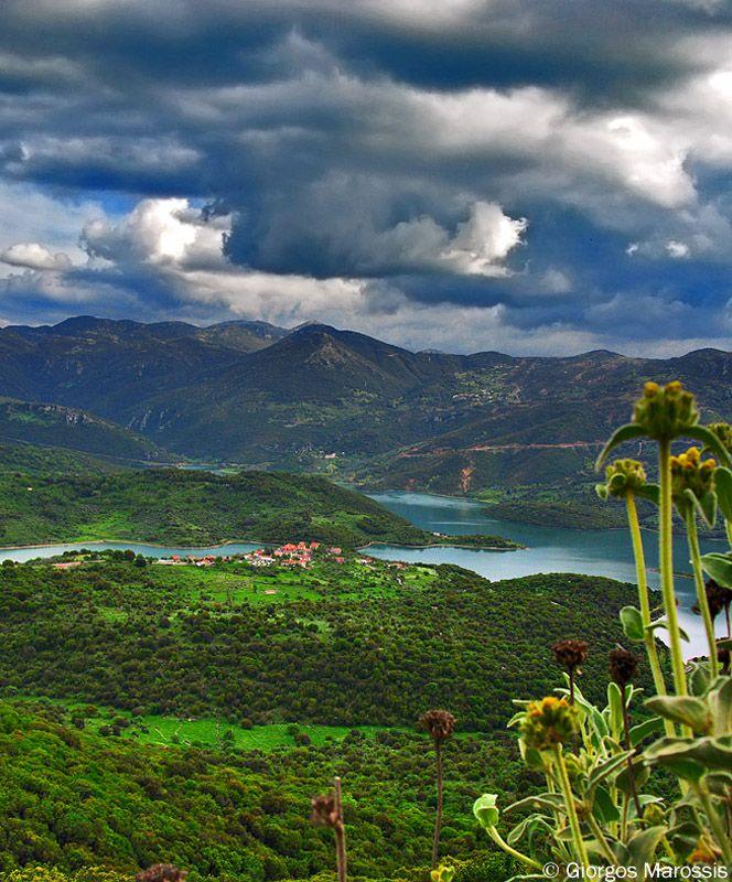 Mouria village at Gortynia Mountains ~ Arcadia (Peloponnese)