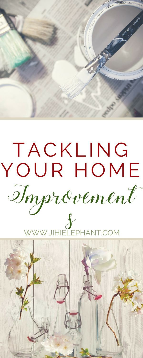 Do you have a long list of things you'd like to do to improve your home? What's stopping you from doing them? There are things we'd all like to do to our homes that we simply put off or never start, even when they're just basic improvements. Start crossing things off that to-do list and tackle your home improvements.