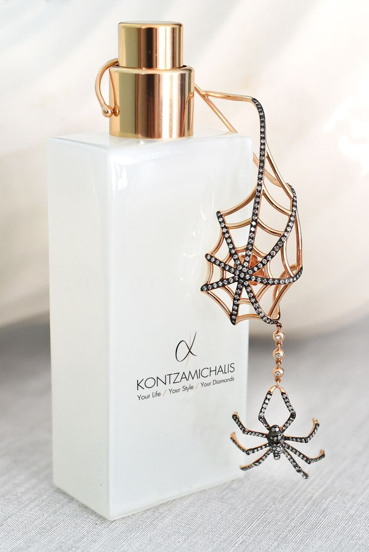 Astonishing beauty and details; all in a single earring, proud creation of #KontzamichalisJewellery  Check the whole #AnimalierCollection: http://kontzamichalis.com/animalier/  We accept the challenge to create the idea of your choice. www.kontzamichalis.com
