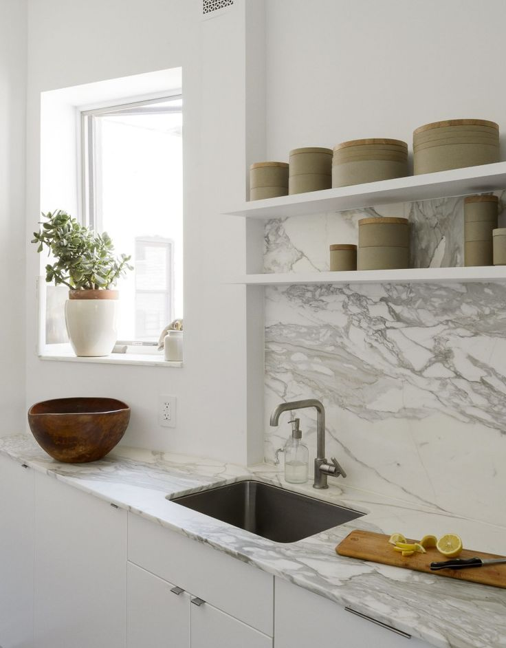 Inspirational Ikea galley kitchen in Jacqueline Schmidt and David Friedlander us square foot Brooklyn
