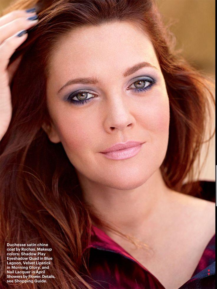 Drew Barrymore na Allure de Janeiro! | Claudinha Stoco - tutorial de maquiagem, dicas de beleza, dicas de moda, resenhas de cosméticos e muito mais.