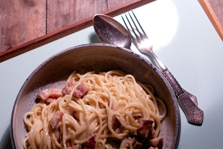 Spaghetti Carbonara - Med husmodertwist