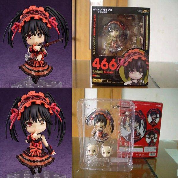 "Nendoroid 4/"" Date A Live Yoshino PVC Action Figure Model Toy #395"
