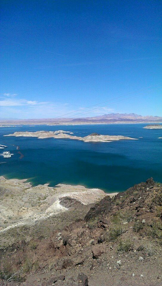 Lake Mead. Gorgeous.