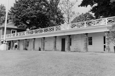 Was Sally Hemings the Mistress of Thomas Jefferson?: Slave quarters at Monticello, home of Thomas Jefferson