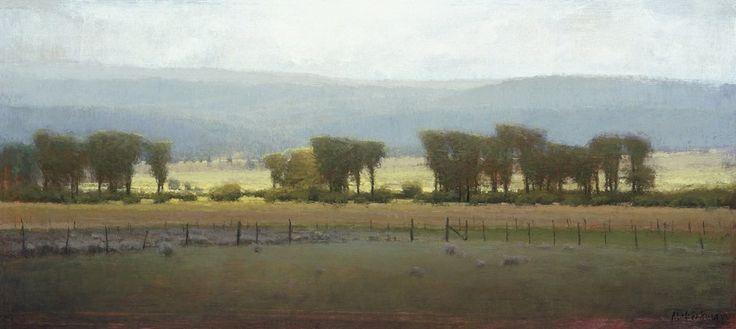 """Cottonwoods Near Helmsville"" by Michael Workman   newvisionart"