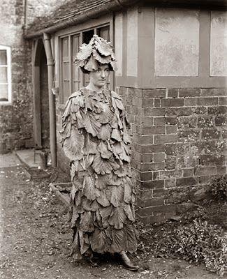 Los más extraños disfraces antiguos de halloween