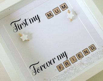 Personalised scrabble tile print frame by preciousmomentsbyktx