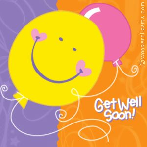 hope you get well soon | David, we hope you feel better! We miss you!