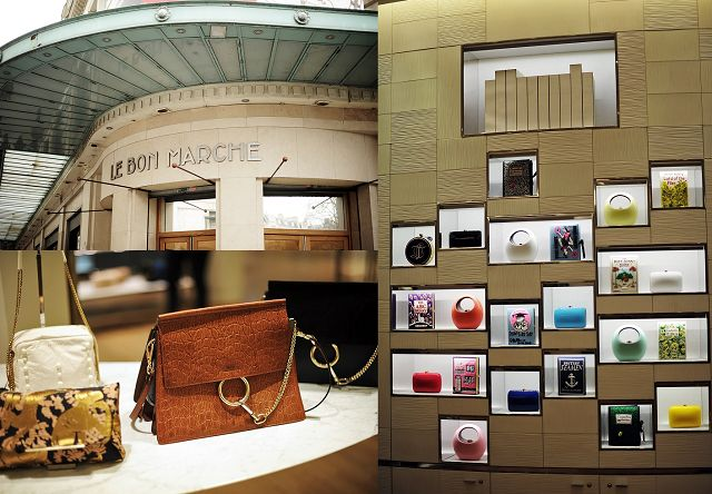 The iconic department store Le Bon Marché was the next stop: http://goo.gl/ecDxcK