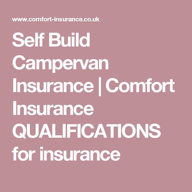 Self Build Campervan Insurance