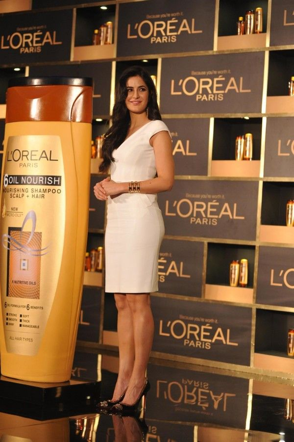 Katrina Kaif launches new hair care range 6 Oil Nourish in Mumbai