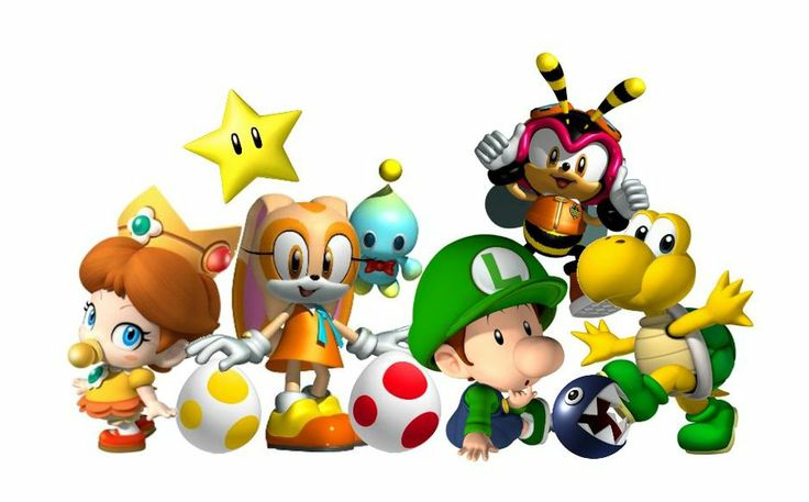 Baby Mario Characters | Squaddies by w00ziie | Super Mario ...