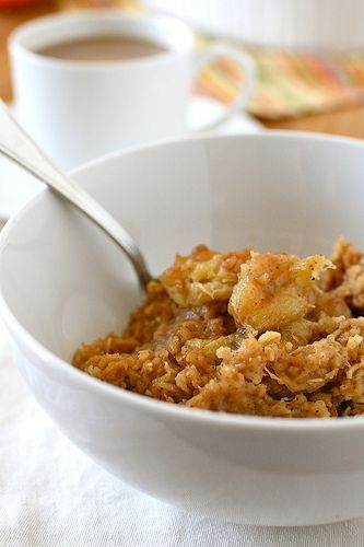 baked pumpkin oatmeal by annieseats, via Flickr