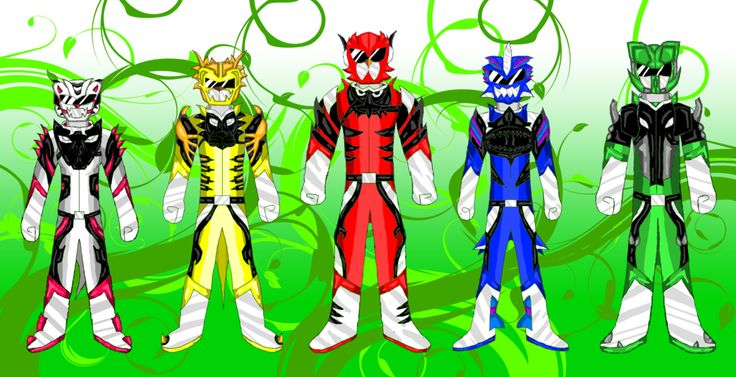 Here is a redesign I did of Doubutsu Sentai Jyuuouger.