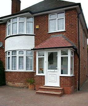 Front entrance roof designs porch note how we have for Enclosed front porch house extension