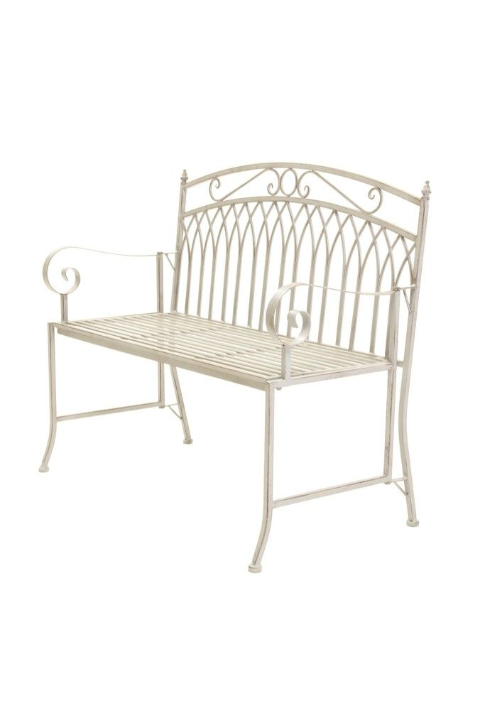 Iron Bench By Charles Bentley Iron Bench Wrought Iron Bench Iron
