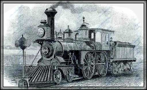 Steam engines, railroads, and trains played a major role ...